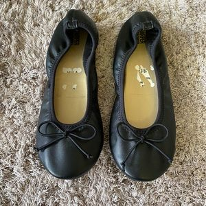 Black girls ballet flats